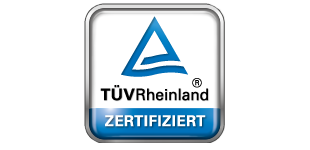 TÜV-Rheinland seal